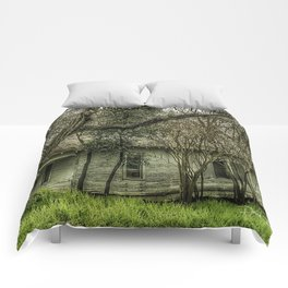 Shadows and Tall Trees Comforters