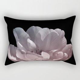 Beautiful light on tulip petals Rectangular Pillow
