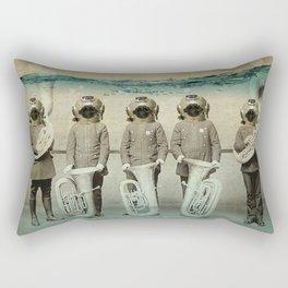 the diving bell Tuba quintet Rectangular Pillow
