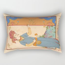 Tarot Card-L'Amoureux-Lovers Rectangular Pillow