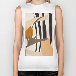 Abstract Art2 Biker Tank