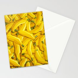 Too many bananas Stationery Cards