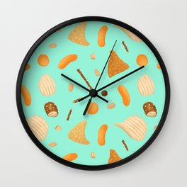Dirty Finger Snacks Wall Clock