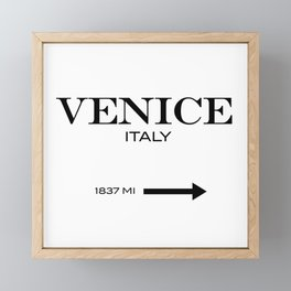 Venice Framed Mini Art Print
