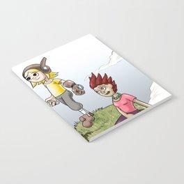Max and Lori at the Junkyard Notebook
