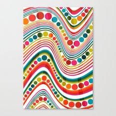 datastream sixty-seven Canvas Print