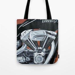 Harley Rider Tote Bag