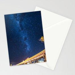 Milky Way Bridge Stationery Cards