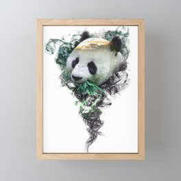 Panda - Spirit Animal Framed Mini Art Print
