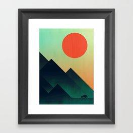 World to see Framed Art Print