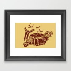 Fast And Class Framed Art Print