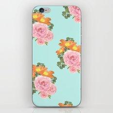 Summer Floral Print II iPhone & iPod Skin