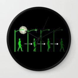 S.L.I.der Wall Clock