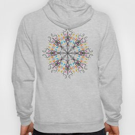 Phallic Mandala with a hint of Anus Hoody