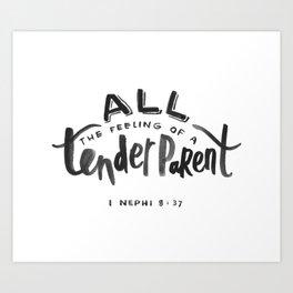 1 Nephi 8:37 Art Print