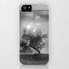 Black and White - Saving Nature iPhone Case