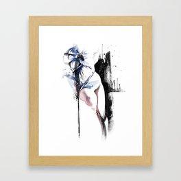 Shibari - Japanese BDSM Art Painting #4 Framed Art Print
