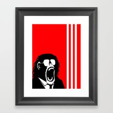 Ape Einstein   Framed Art Print