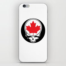 Canadian Steal Your Face iPhone & iPod Skin