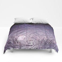 Purple Rain (Angeles National Forest) Comforters