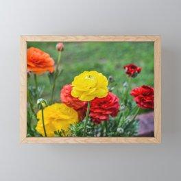 Pretty Flowers Framed Mini Art Print