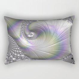 Fractal Art-Opalescent Shell Rectangular Pillow