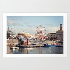 Ramsgate in August Art Print