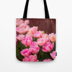 Painted Tulip Tote Bag