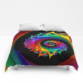 life is colorful -2- Comforters