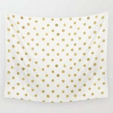 Gold Spots Wall Tapestry