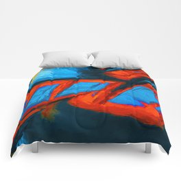Order. Abstract Art by Tito Comforters