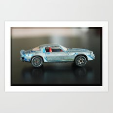 Toy Car Art Print