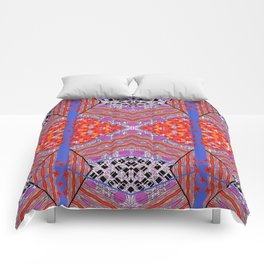 Geo Diamond Comforters