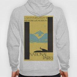 Vintage poster - National parks Hoody
