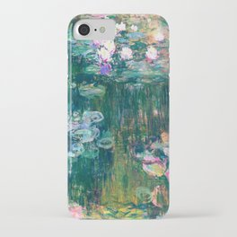 water lilies : Monet iPhone Case