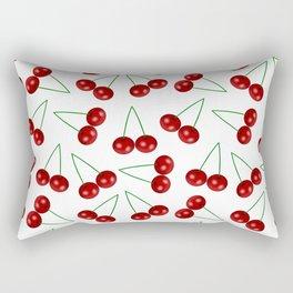 Tasty cherry Rectangular Pillow