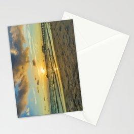 Naples Pier Sunset Stationery Cards