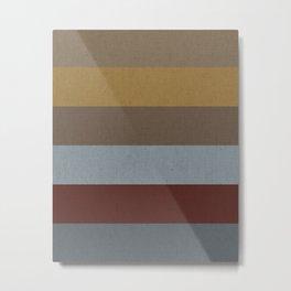 Copenhagen Colors Metal Print
