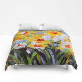 Daffodil Tangle Comforters