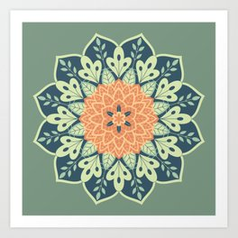 Shadeflower Art Print
