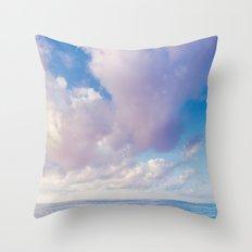 beach ver.pink Throw Pillow