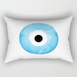 Watercolor Evil Eye Rectangular Pillow