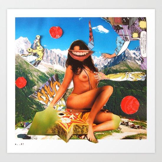 Surreala Alpina 32 Art Print