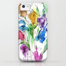 40's style flowers iPhone 5c Slim Case