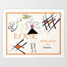 Styled To Rock -  Art Print
