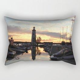 Sylvan Lake Lighthouse Rectangular Pillow