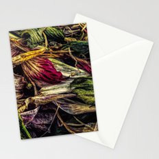 Dried Flower Petals Stationery Cards