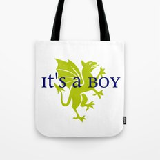 It's a Boy: Golden Dragon Tote Bag