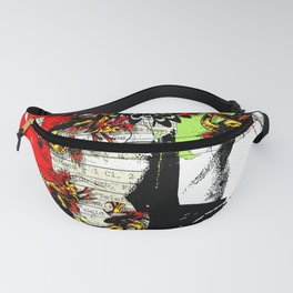 Anxious Dragons Fanny Pack