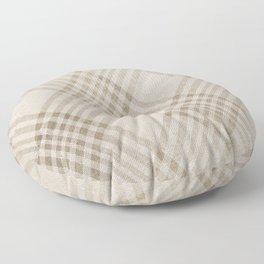 Rich Beige Floor Pillow